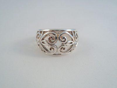 Inel din argint oriental