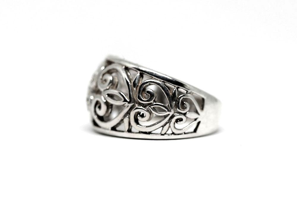 inel oriental din argint