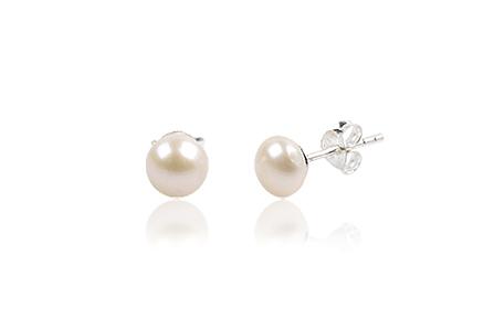 Cercei Din Perle Naturale