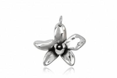 Pandantiv orhidee din argint