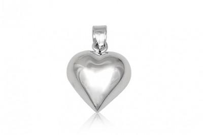 Pandantiv inimioara din argint