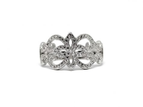 inel din argint deosebit