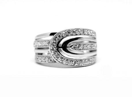 inel argint cu model deosebit