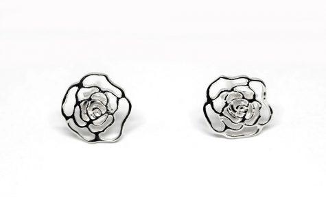 cercei trandafiri argint 925