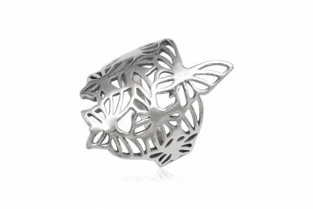 inel cu fluturi din argint