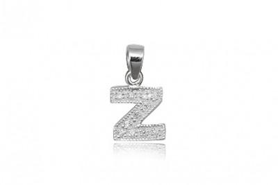 Pandantiv din argint litera Z