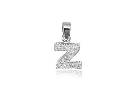pandantiv argint litera z