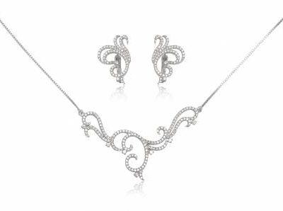 set elegant din argint