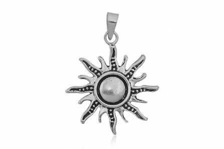 pandantiv argint soare