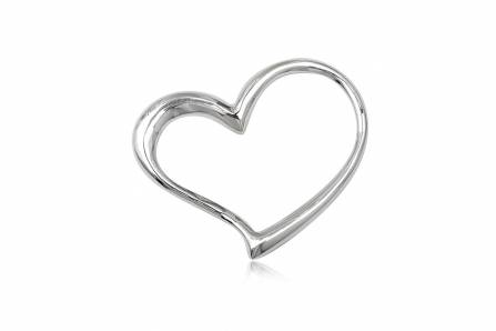 pandantiv inima din argint