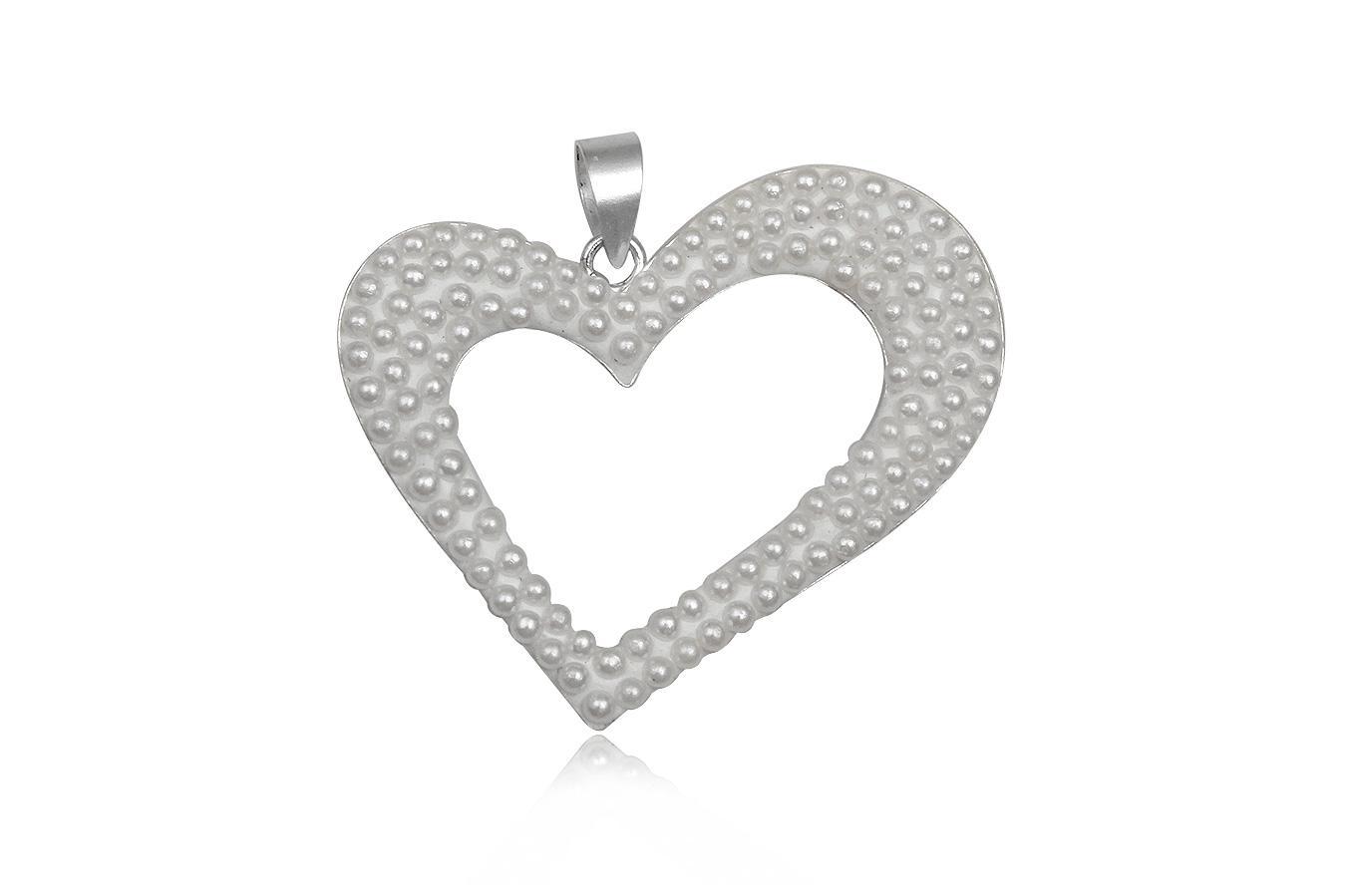 pandantiv argint cu perle mici