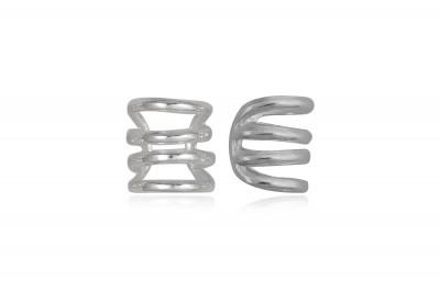 Cercei din argint ear cuff