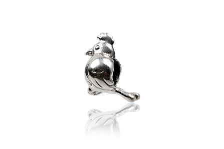 pandantiv pasare argint