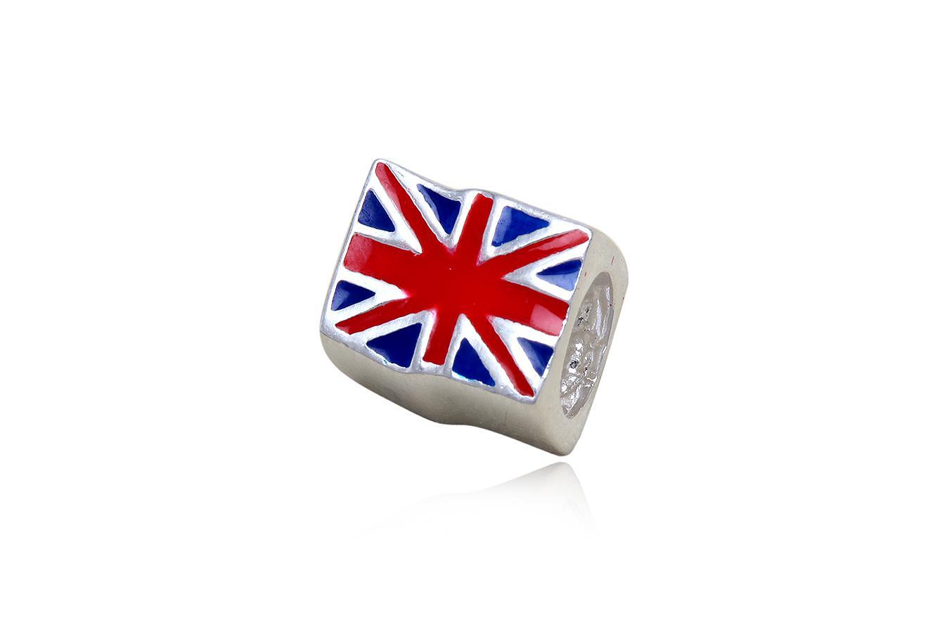 pandantiv argint steag britanic