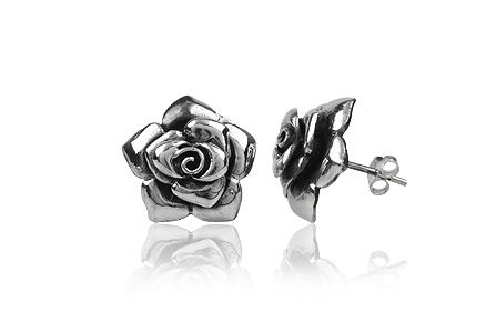cercei trandafiri stralucitori
