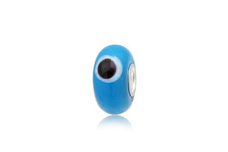 Pandantiv Evil Eye Albastru Deschis
