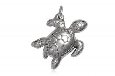 Pandantiv broscuta testoasa din argint