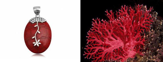 bijuterii cu coral