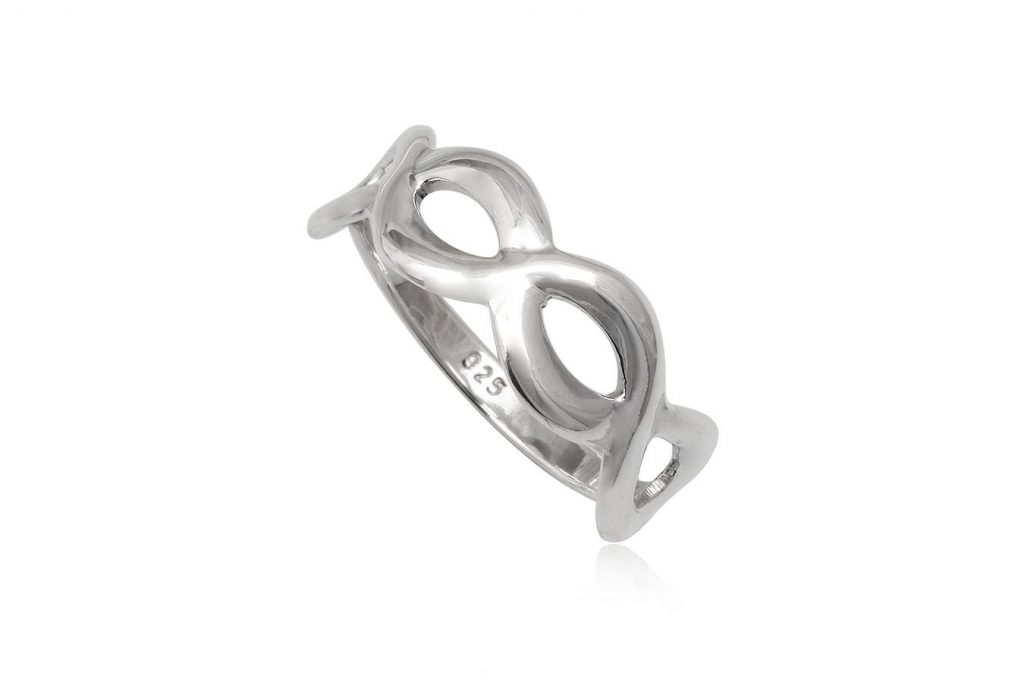 Verigheta Din Argint Cu Simbolul Infinitului