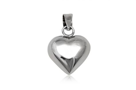 pandantiv inima de argint