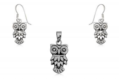 Set din argint cu forme haioase