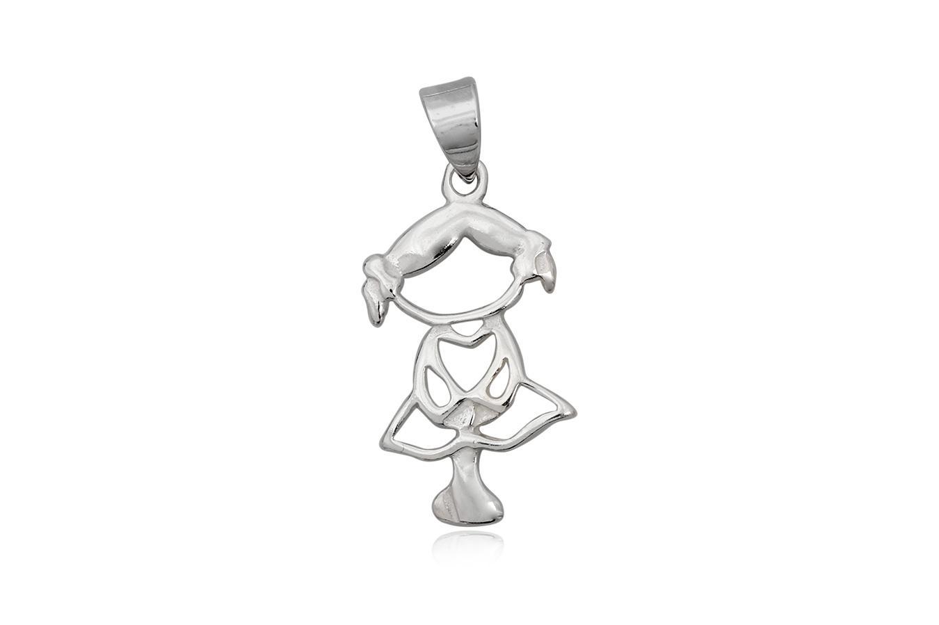 pandantiv fetita argint