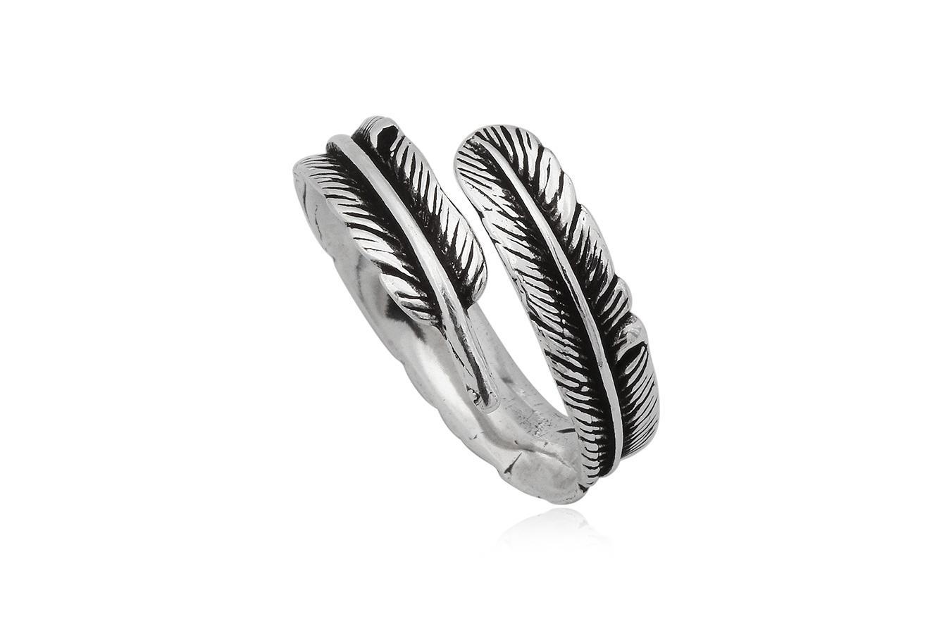 inel argint pana