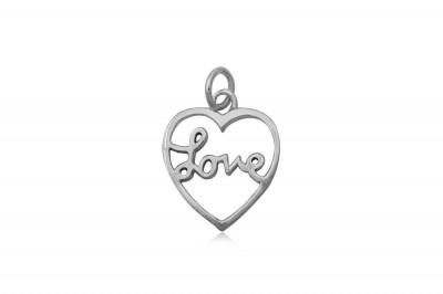 Pandantiv din argint Love