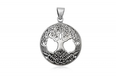 Medalion din argint Copacul vietii