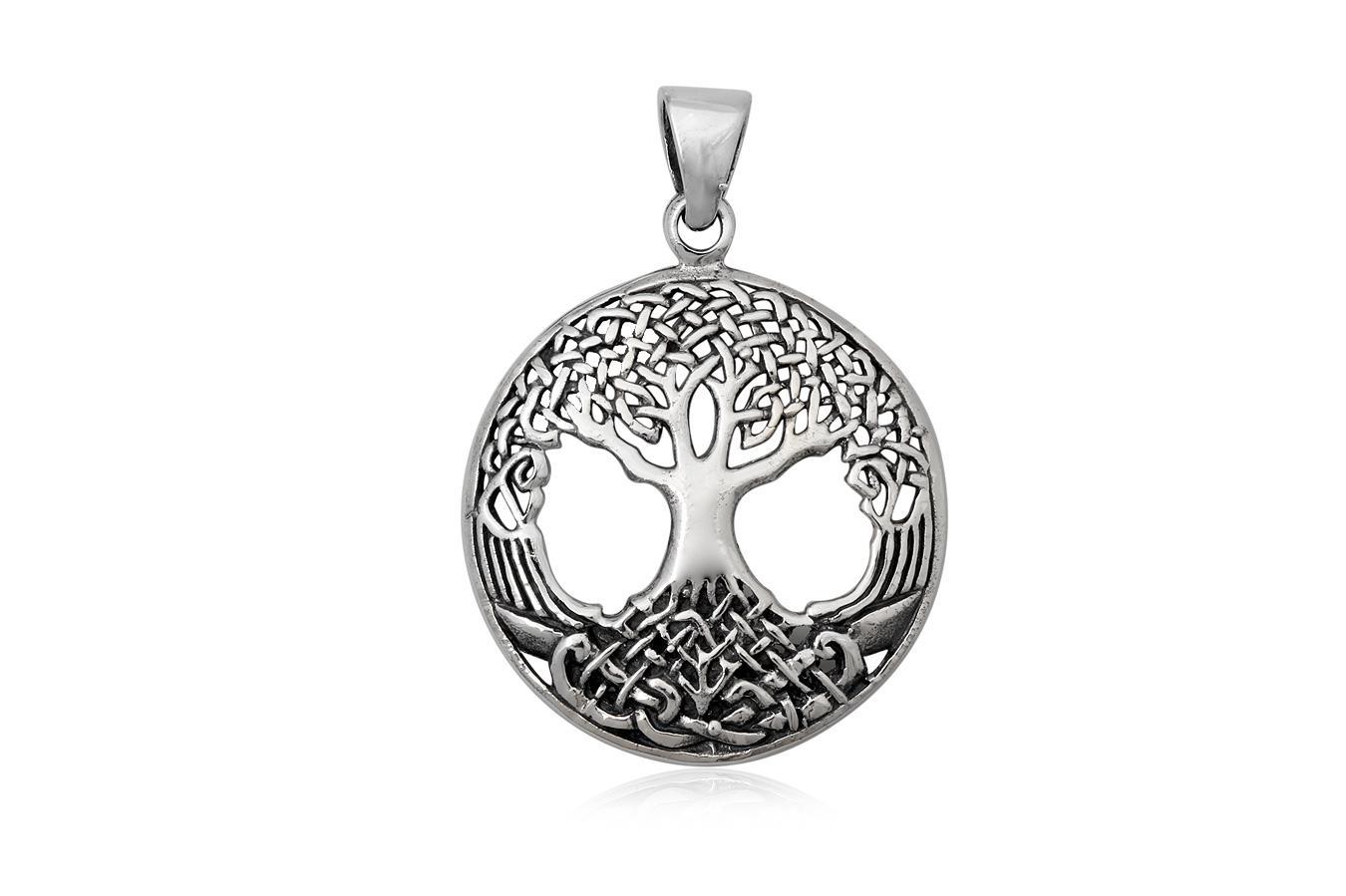 medalion argint copacul vietii