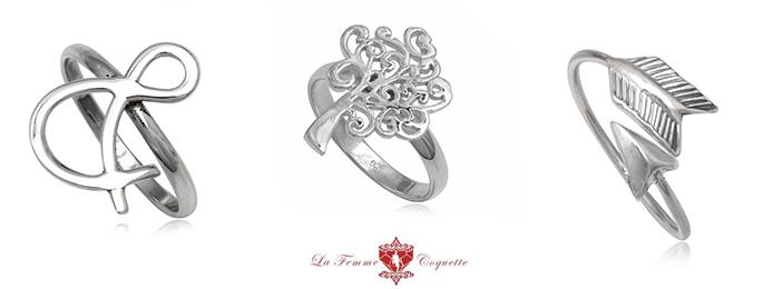 inele argint cu simboluri