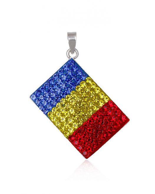 pandantiv steag romanesc