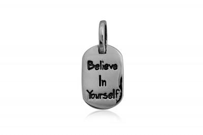 Pandantiv din argint Crede in tine