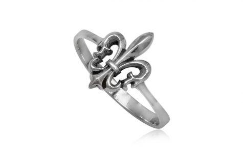 inel argint cu floare de lotus