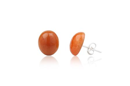 cercei micuti cuart orange