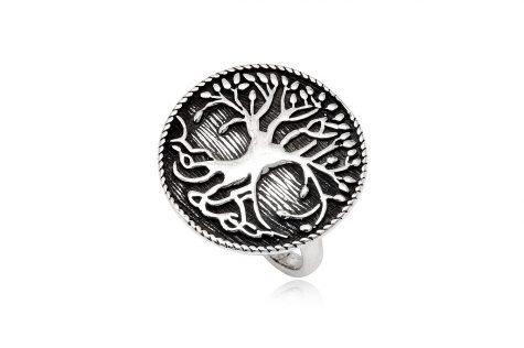 inel argint antichizat copacul vietii