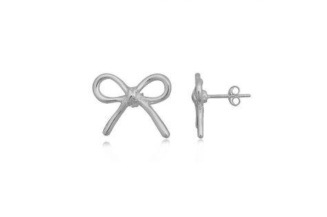 cercei fundite simple din argint