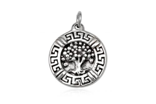 pandantiv copac si simbol grecesc