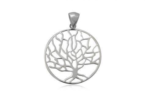 pandantiv arborele vietii argint