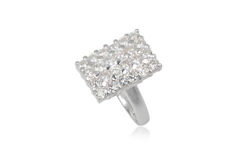 inel argint cu design special