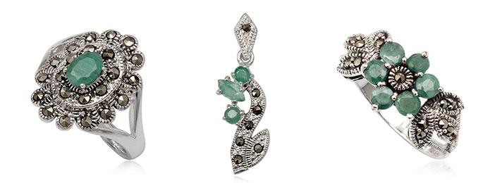 bijuterii cu smarald