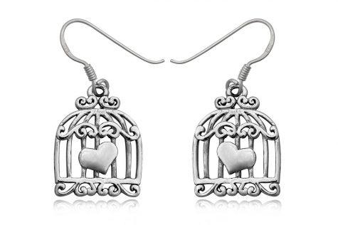 cercei colivii din argint