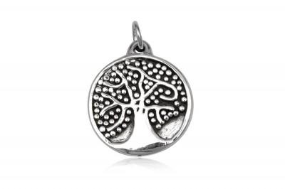 Pandantiv Pomul Vietii cu bobite din argint