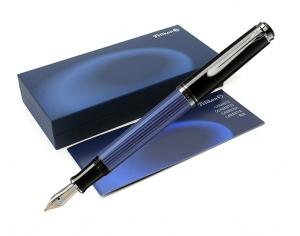 stilou pelikan m405 albastru cu negru