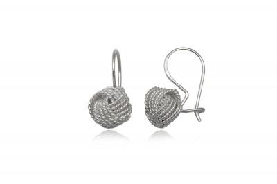 Cercei din argint cu design special