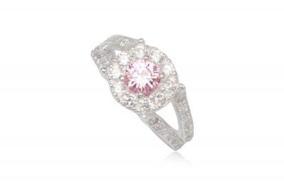 Inel de logodna Pink Love