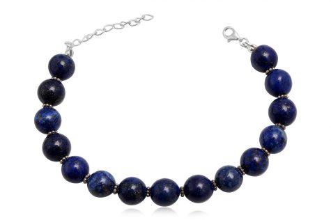 bratara cu pietre semipretioase lapis lazuli