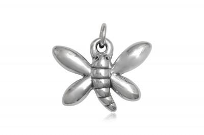 Pandantiv Fluture stralucitor din argint