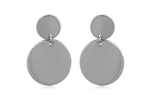 cercei cercuri stralucitoare argint