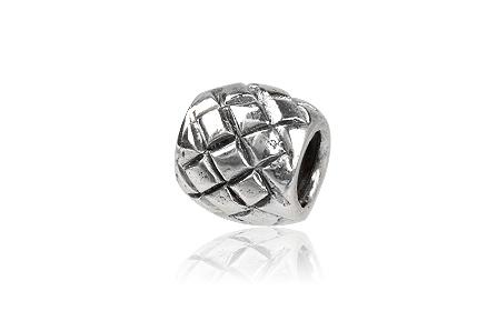 pandantiv bratara argint cu romburi